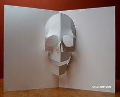 pop-up skull avec pdf