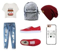 """""""Casual Outfit"""" by witapranata-1 on Polyvore featuring Vans and Casetify"""