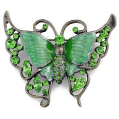Vintage Style Green Butterfly Pins Pin Brooch Fantasyard. Save 43 Off!. $10.59. Gift box available for an additional fee. Please check out through gift-wrap option. Other color available. Exquisitely detailed designer style