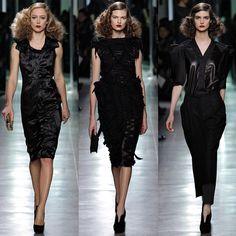Bottega Veneta Fall 2013 Ready-to-Wear Fashion Show - Marine Deleeuw Only Fashion, Fashion Week, Fashion Show, Fashion Design, Review Fashion, Fashion Black, Men's Fashion, Couture Fashion, Runway Fashion