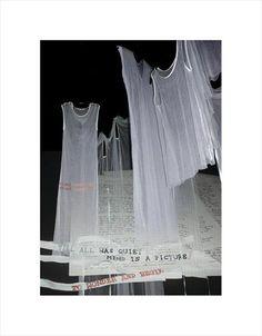 Ann Demeulemeester 'Wool Gathering' Spring/Summer '00