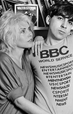 Debbie Harry and Chris Stein Blondie Debbie Harry, Chris Stein, Blake Lively Style, 70s Punk, Mp3 Song Download, Band Photos, Rock Legends, Iconic Women, Musica