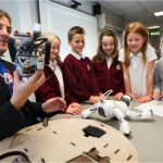DMU's David Croft talks about inspiring youngsters through DMU Square Mile's Robot Club Robotics Engineering, David, Student, Club, Education, Math, Inspiration, Biblical Inspiration, Robot Technology