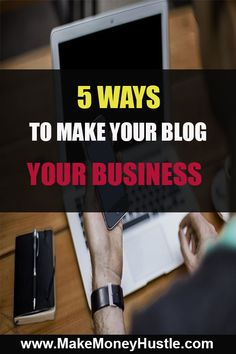 If you want to make money blogging, you need to treat it like a business... Make Money Fast, Make Money From Home, Make Money Online, Wall Street, Affiliate Marketing, Online Marketing, Body Makeup, Frugal Tips, Be Your Own Boss