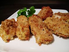 Homemade fish sticks - 4 thumbs up Fish Sticks, Family Meals, Mint, Homemade, Dinner, Cooking, Food, Dining, Kitchen