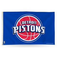 Detroit Pistons Banner Flag, Multicolor