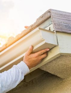 Since GutterDome has been providing homeowners with a permanent solution to the annual problem of gutter cleaning. Gutter Screens, Gutter Drainage, House Gutters, Diy Gutters, Copper Gutters, Gutter Protection, Seamless Gutters, Water From Air, Ideas
