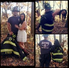 fireman engagement picture, this will prob b def mine and chucks pictures :)
