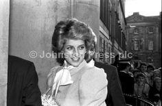 Diana Princess of Wales visits the Leith Enterprise Trust in Edinburgh, October 1985.