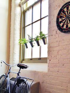 Ikea Hacks: Window Herb Garden