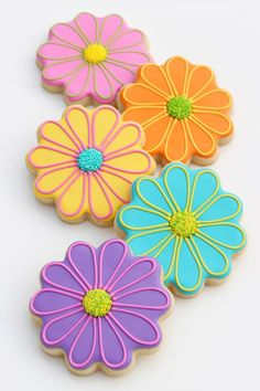 Mexican Fiesta Decorated Cookies - Glorious Treats Mexican Fiesta Decorated Cookies - Glorious Treats Bright Flower Decorated Cookies<br> Colorful and fun Mexican Fiesta Decorated Cookies! Perfect for a Cinco De Mayo party, or any Mexican themed party! Mother's Day Cookies, Cocoa Cookies, Summer Cookies, Fancy Cookies, Iced Cookies, Cute Cookies, Easter Cookies, Birthday Cookies, Cupcake Cookies