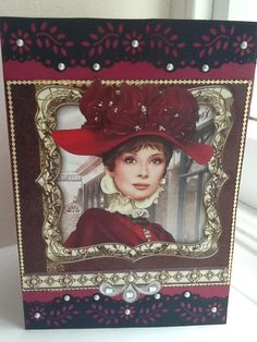 Debbi Moore.. Used images and papers from her monthly magazine and embellishments