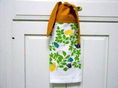Kitchen Hand Towel, Towel With Ties,, Hanging Towel Dish Towel, Hand Towel, Tea  Towel, Hanging Hand Towel, Hanging Dish Towel