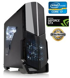 """RPC Custom Built i7-6800K 3.6 GHz / nVidia Gaming PC 