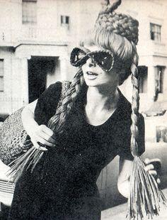 Braided sunglasses, 1960s. S)