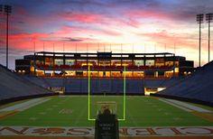 Memorial Stadium (aka Death Valley) in Clemson, SC...where my beloved Tigers ROAR!