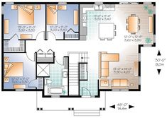 country house plan 76344 - House Plans Online