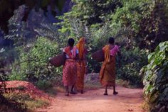 Tribal Ladies Photo Credit: Abhishek Mandal Baranti : A Sweet little place in nature's lap