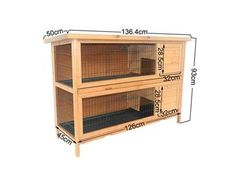 DIY Rabbit Hutch Plans - Bing Images