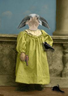 """A Bird in the Hand"" by John Williams (ShamanMoon @ DeviantArt.com) (© 2012)"