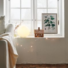 It`s the season for Christmas decorations! Make it a white one, with select lighting and green accents completing an elegant, cosy atmosphere. #myIKE #IKEA #home #decoration #decorideas #winterseason #christmas #wintermood #interiordesign #Zuhause #einrichten #IKEAaccessories #FADO #BERÄKNA #lightingchains #xmasmood #whitechristmas #christmasdecoration #holidaymood
