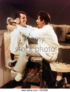 DEAN AND LEWIS - US film comedy duo of Dean Martin (left) and Jerry Lewis…