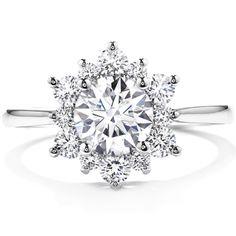Delight Lady Di Diamond Ring, Kinda like cuz it looks like a snow flake!