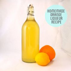 Homemade Orange Triple Sec Liqueur Recipe
