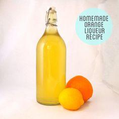 Homemade Orange Triple Sec Liqueur Recipe