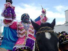 """Ecuador: """"Fiesta de la Mama Negra en la ciudad de Latacunga"""""""