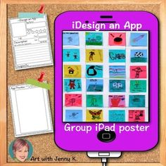 Good activity after reading a story/novel. Create an app for the main character's iPad.