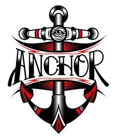 Anchor Store Logo by Cristian Camilo, via Behance