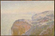 Val-Saint-Nicolas, Near Dieppe, France. (Morning). Claude Monet. 1897. #monet #dieppe #france #seascape