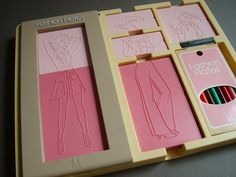 Barbie Fashion Plates Toy fashion plates what s
