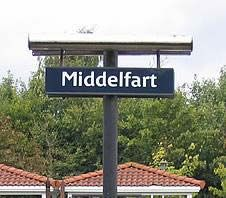 "Middelfart, Denmark I guess it's not so funny to them, but how do we know that ""Seattle"" doesn't mean ""Big Fat Stinking Turd"" in Danish? Street Name Sign, Street Names, Street Signs, Funny Town Names, Funny Place Names, Funny City, Crazy People, Strange People, Fun Signs"
