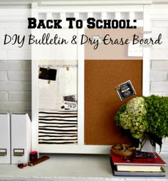 671bae88af83 Back To School  DIY Bulletin   Dry Erase Board