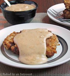 This chicken fried steak is served with a flavorful pan gravy. You have to try this recipe. It is better than your grandma's! Trust me.
