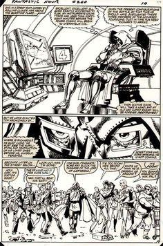 Doom. Fantastic Four #260, page 9, Art: John Byrne.