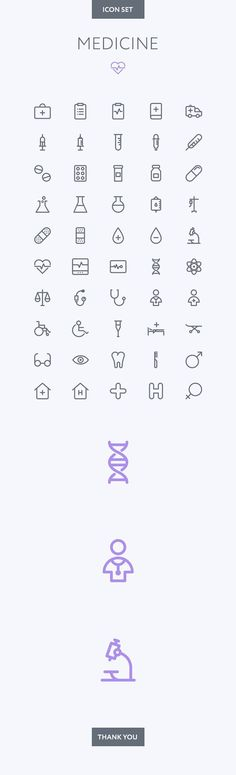 Medical icon set on ...