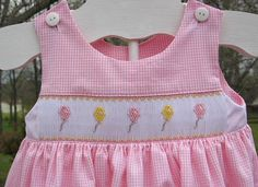 Creations By Michie` Blog: Free Balloon Smocking Design!!
