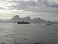 Forte Tamandaré da Laje. Maio 2015. Foto de Carolina Belo #baiadeguanabara #riodejaneiro #errejota #labhidro #ufrj #hidrobiologia #ilha #niteroi #laje #forte