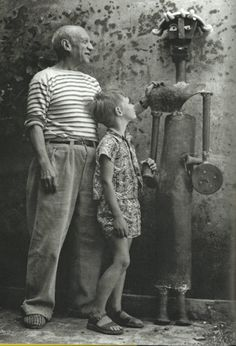 Picasso and Tony Penrose © Lee Miller