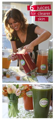 Glowing skin in just 3 days: organic juices crafted and delivered just for you