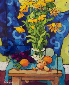 - Blog featuring the original artwork of Angus Wilson.