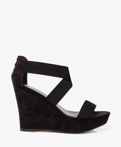 Crisscross Wedge Sandals | FOREVER21 - 2030453003