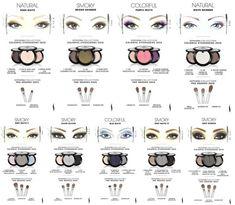 9 Sephora Makeup Templates of Eyeshadow tutorial and instruction. Follow us: www.facebook.com/fabartdiy