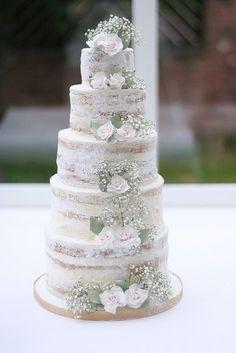 Mariage rustique : il vous faut un naked cake ! - Réception, Réception et traiteur - Mariage.com