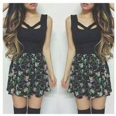 Image result for cute summer clothes for teenage girls tumblr - clothing, black, yoga, office, dance, modest clothes *ad