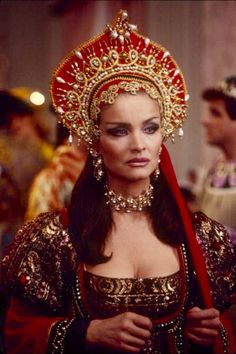 Kate O'Mara in the 'Dynasty' episode 'Masquerade'. Der Denver Clan, Indian Women Painting, Still Love Her, After Marriage, Beautiful Costumes, Couple Relationship, Medieval Clothing, India Jewelry, Celebs
