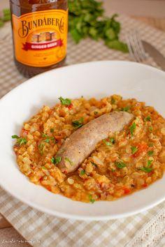 Mâncare de linte cu cârnați (pregătită la multicooker) | Bucate Aromate